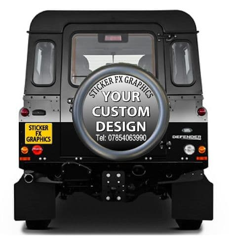 CUSTOM DESIGN 4x4 Semi-Rigid Spare Wheel Cover