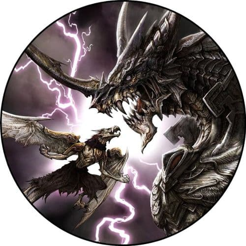 DRAGON 4x4 Spare Wheel Cover DECAL STICKER