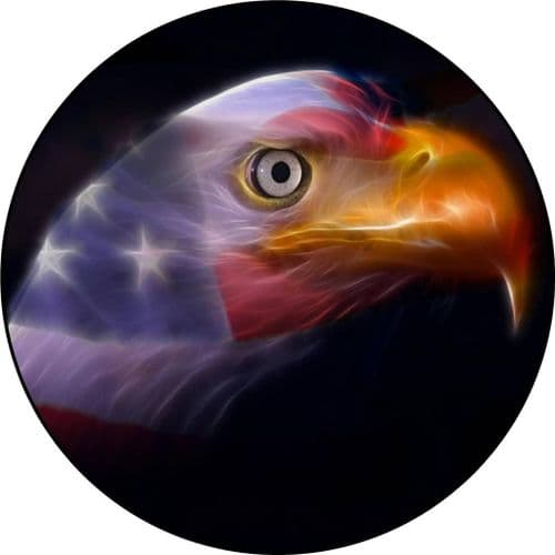 EAGLE USA 4x4 Spare Wheel Cover DECAL STICKER
