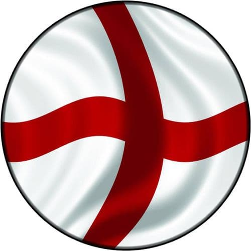 ENGLAND FLAG 4x4 Spare Wheel Cover DECAL STICKER