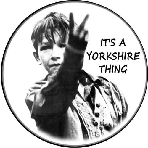 KES YORKSHIRE 4x4 Spare Wheel Cover DECAL STICKER