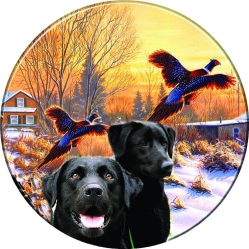 LABRADOR RETREVIER 4x4 Spare Wheel Cover DECAL STICKER