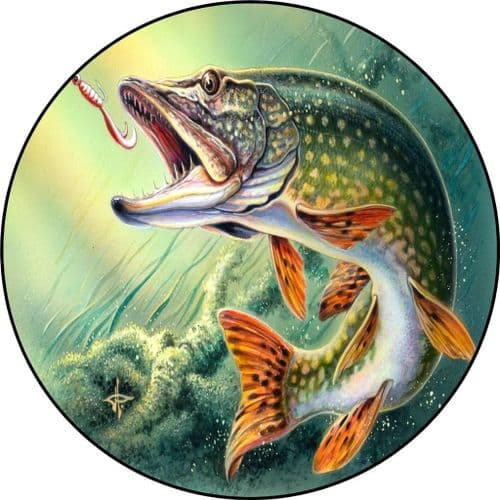 PIKE FISHING 4x4 Semi-Rigid Spare Wheel Cover