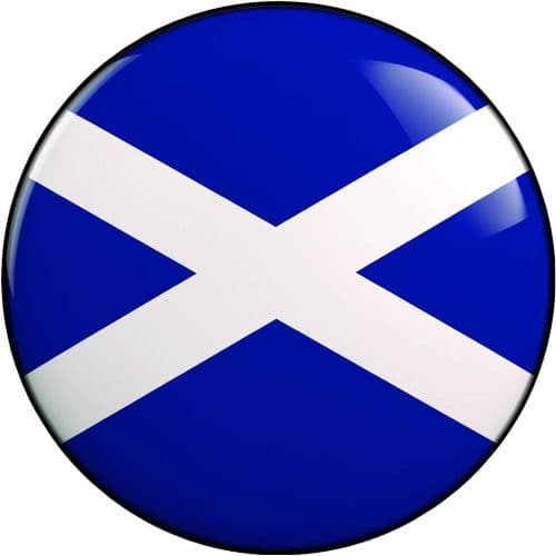 SCOTLAND 4x4 Spare Wheel Cover DECAL STICKER