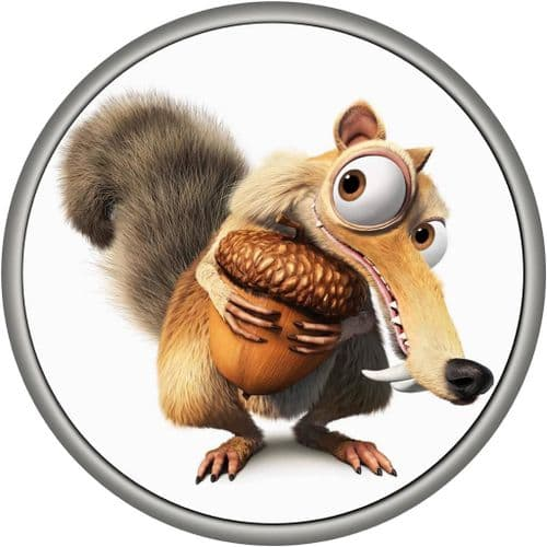 SCRAT 4x4 Spare Wheel Cover DECAL STICKER