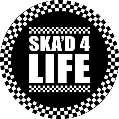SKA'D 4 LIFE 4x4 Spare Wheel Cover DECAL STICKER