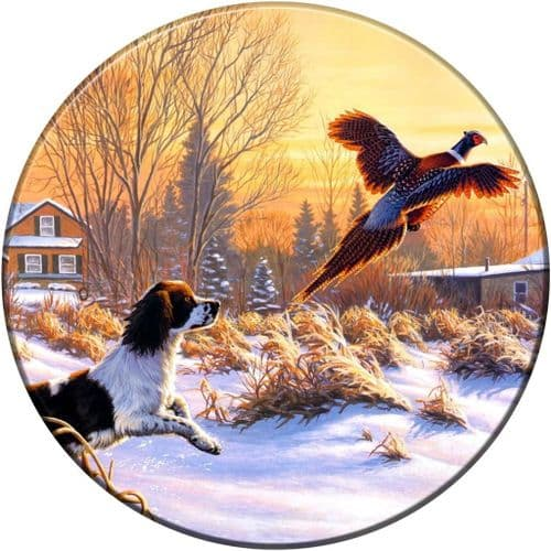 SPRINGER SPANIEL & PHEASANT 4x4 Semi-Rigid Spare Wheel Cover