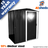 A1 Sapphire Steel Shed 5x4