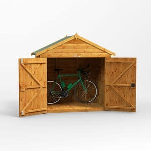 Apex Bike Shed 4x6 *FREE DELIVERY*