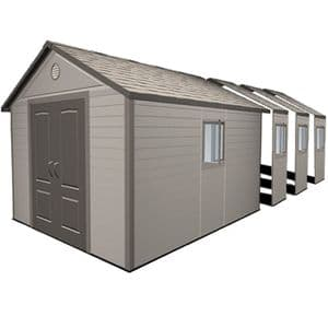 Lifetime® 11x26 Plastic Apex Shed