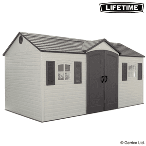 Lifetime® 15x8 Single-Entry Shed (6446)