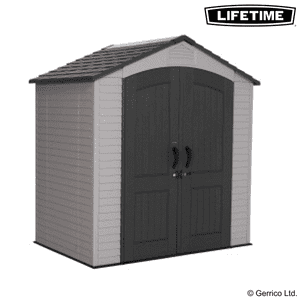 Lifetime® 7x4.5 Plastic Shed (60057)
