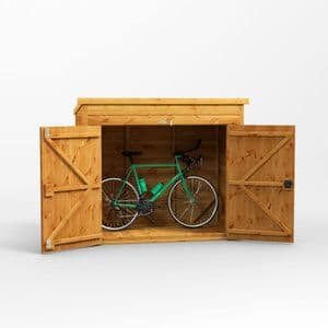 Pent Bike Shed 6x3 *FREE DELIVERY*