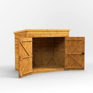 Pent Bike Shed 6x4 *FREE DELIVERY*