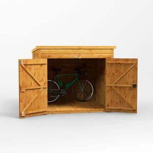 Pent Bike Shed 6x6 *FREE DELIVERY*