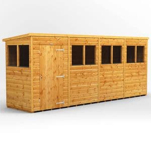 POWER® PENT 16x4 Shed *FREE DELIVERY*