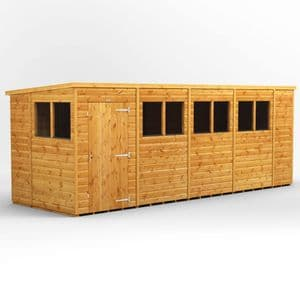 POWER® PENT 18x6 Shed *FREE DELIVERY*