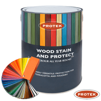 Protek WOOD STAIN & PROTECT 5-Litre