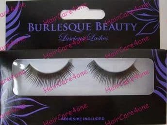 BURLESQUE BEAUTY EYELASH EYELASHES BLACK COLOUR