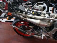 Honda NS 400R STAINLESS STEEL SIDE/SIDE STYLE JL EXHAUSTS