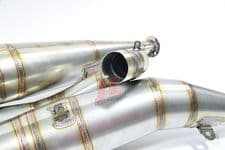 Suzuki GT750 POLISHED STAINLESS STEEL BOLT-ON STYLE JL EXHAUSTS