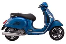VESPA GTS JL GTS SHORTY STAINLESS POLISHED Exhaust