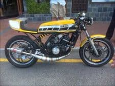 Yamaha RD350LC MILD STEEL ''CAFE RACER'' STYLE EXHAUSTS