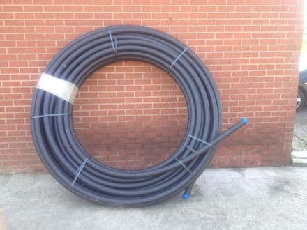 50m Roll MDPE flexi pipe 63mm (2inch)