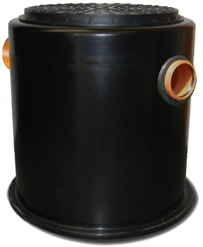 JTG190 GREASE and SILT TRAP - 190 LITRES CAPACITY (FOR UP TO 150 MEALS PER DAY)