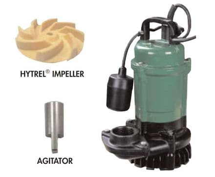 Trenchman Heavy duty submersible dewatering pumps with agitator