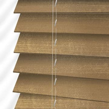 Forestwood 50mm Real Wood Venetian blinds Made to Measure in Traditional Oak