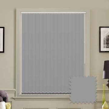 """Made to Measure Blackout 5"""" Unishade Ash Vertical Blind"""