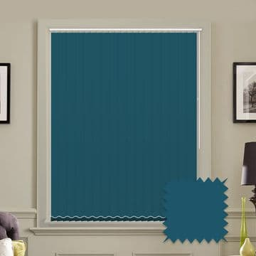 """Made to Measure Blackout 5"""" Unishade Escape Vertical Blind"""