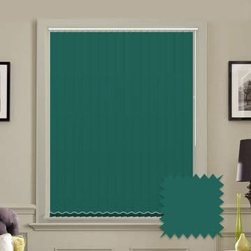 """Made to Measure Blackout 5"""" Unishade Glade Vertical Blind"""