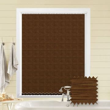 Made to Measure Morocco Russet Vertical Blind