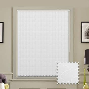 Multiple Vertical Blind Deal | Lapwing white or cream