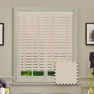 Sunwood Faux Wood Venetian Blinds with Tapes in Gravity
