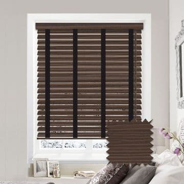 Sunwood Faux Wood Venetian Blinds with Tapes in Lima