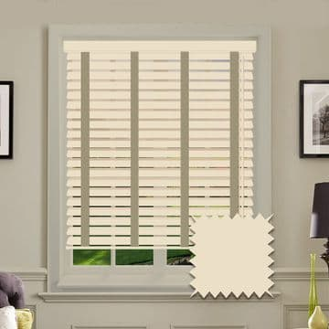 Sunwood Faux Wood Venetian Blinds with Tapes in Linara
