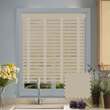 Sunwood Faux Wood Venetian Blinds with Tapes in Mantis