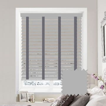Sunwood Faux Wood Venetian Blinds with Tapes in Mission