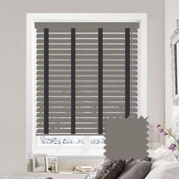 Sunwood Faux Wood Venetian Blinds with Tapes in Orion