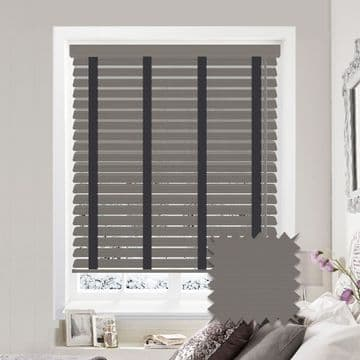 Sunwood Faux Wood Venetian Blinds with Tapes in Orion Fine Grain