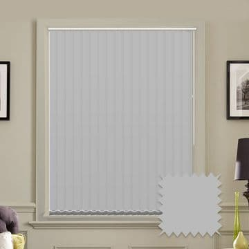 Unicolour Dove 5 inch Vertical Blinds - made to measure
