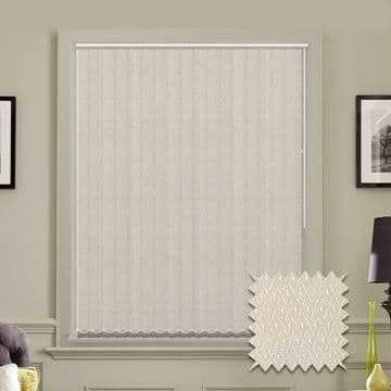 Vertical blinds - Made to Measure vertical blind in Java Cream