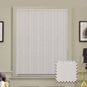 Vertical blinds - Made to Measure vertical blind in Java White
