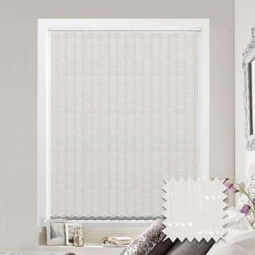 Vertical blinds - Made to Measure vertical blind in Malimo Frost