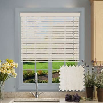Washed Wood Look Aluminium venetian blind