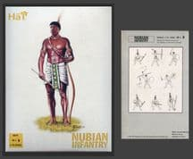 HaT 1.72 scale (20mm) 8079 Ancient Nubian Infantry (x 48 figs)