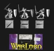 Reaper Miniatures 25mm/28mm Fantasy 14107 Overlords Warriors/Knights (3 diff figs)